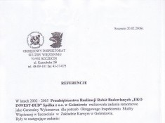 Referencje 2006 ZK bc